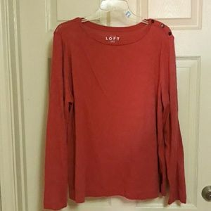 Loft Fuchsia XL long sleeve top